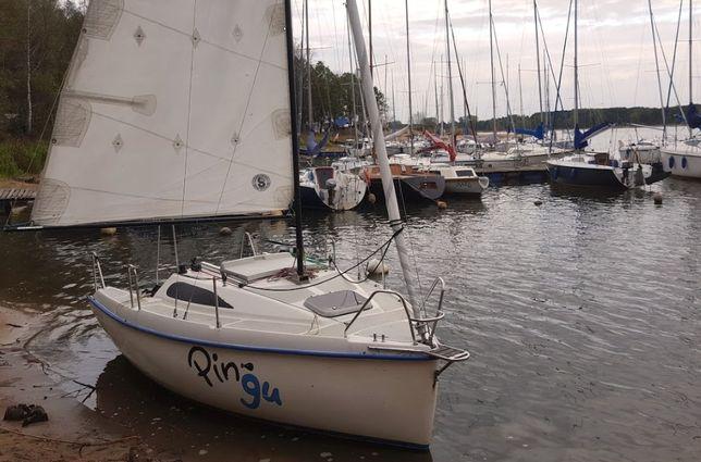 Jacht Żaglowy VIS 45 2007, mało używany, przyczepa, stan dobry 1 wł.