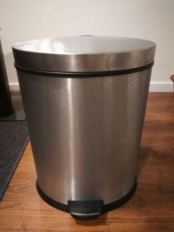 Caixote do lixo reciclável com 2 depósitos em inox praticamente novo
