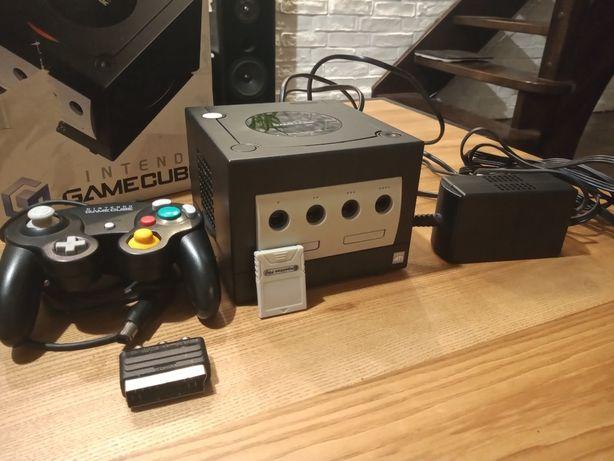 Gamecube - czarny, wraz z kartonem plus bonus