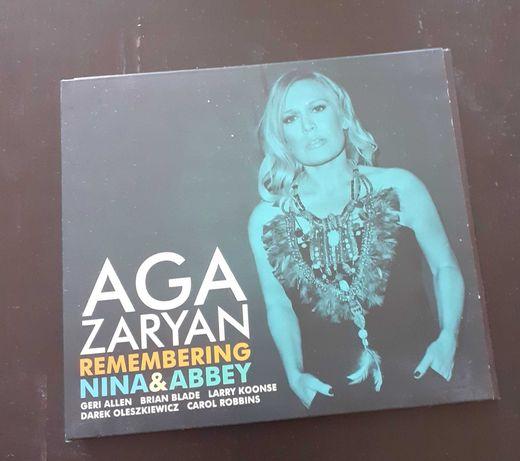 Płyta cd Aga Zaryan remembering