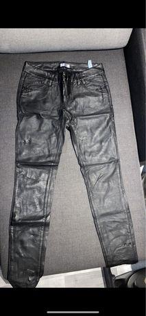 Wyskowane spodnie rozm 38 / orsay