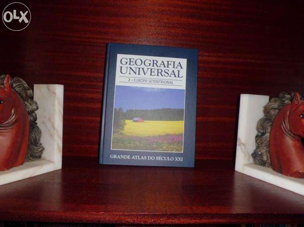 Enciclopédia Geografia Universal 18 livros, coleção completa
