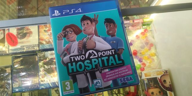 Gra gry ps4 Two Point Hospital. Skup. Sprzedaż. Wymiana. Gier. Lubin.
