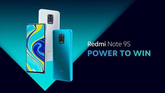 Xiaomi Redmi Note 9S 4/64Gb//730G Snap//Global//Новые !