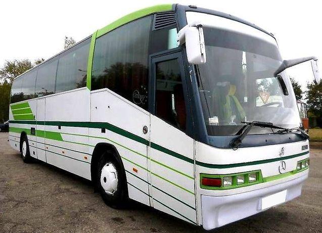 Пассажирские перевозки,аренда автобуса mercedes-benz 55 мест