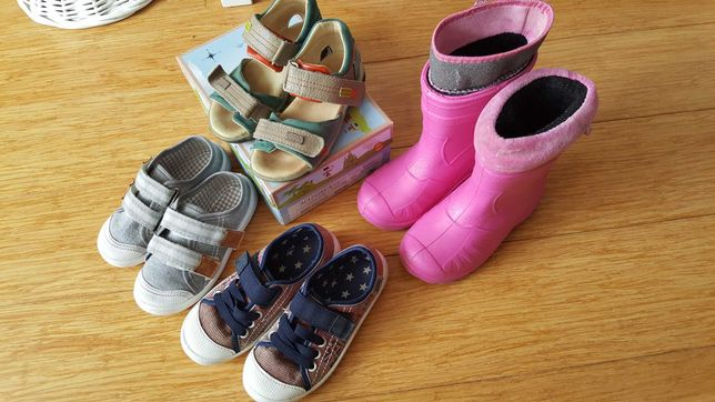 Zestaw obuwia dla dziecka