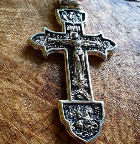 Акимов крест Крест серебро 35 гр. Крест Александра Усика Мужской крест