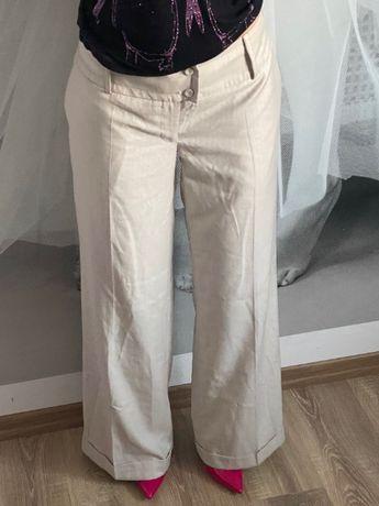 Spodnie szerokie z mankietami S'NOB rozm XL Nowe z metką