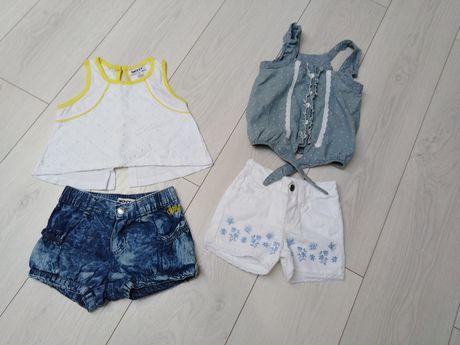 DKNY spodenki jeansowe i koszulka NOWE + GRATIS
