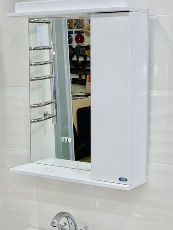 Зеркало 55см Шкафчик зеркало в ванную комнату