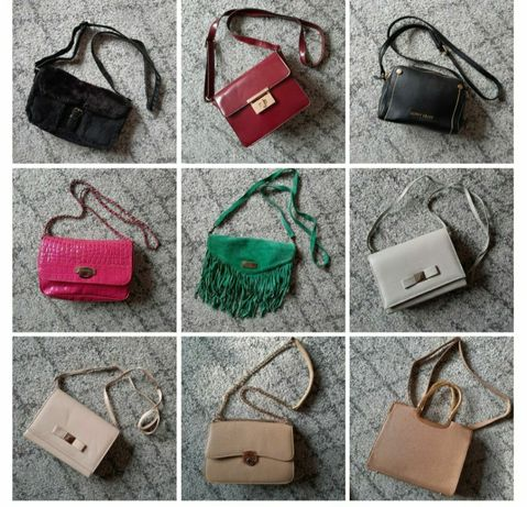 Torebki różne mała torebka