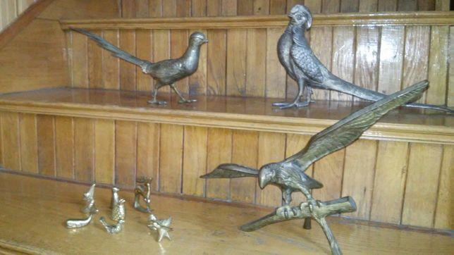 Figurki ptakow i zwierzat