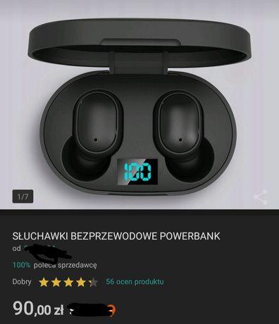 Bezprzewodowe słuchawki+powerbank.Zamiana na podzespoły komputerowe.