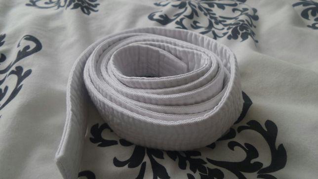 Biały pas .Karate .Judo .Teakwan-do.130 cm