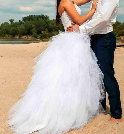 Suknia Ślubna kryształki Swarovskiego