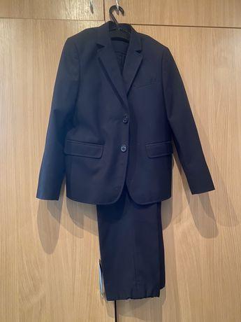 Костюм, школьная форма, 7-8 лет пиджак брюки
