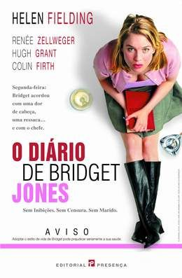"""Livro """"Diário de Bridget Jones"""" de Helen Fielding"""