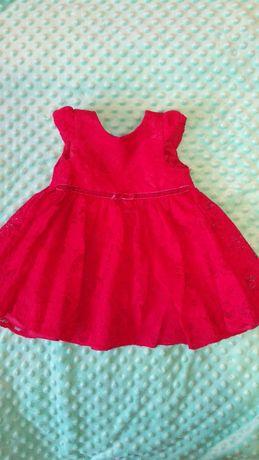 Платье для девочки 3-6 мес