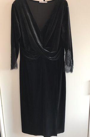 Aksamitna sukienka Zarina