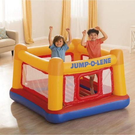 Надувной детский игровой центр-батут Intex 48260 (174х174х112 см)