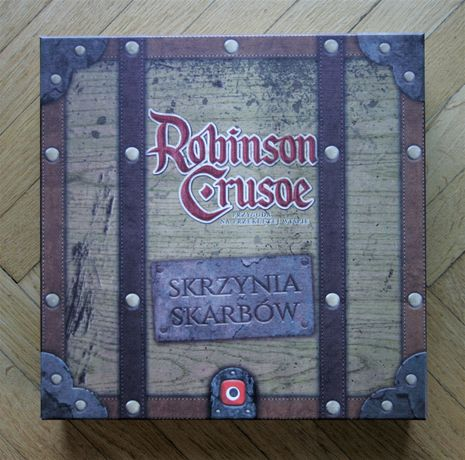 Robinson Crusoe: Skrzynia Skarbów - Portal Games - dodatek BDB !!!
