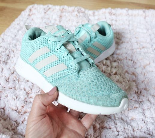 Buciki ADIDAS dla dziewczynki dziecka adidasy buty 33 jesień miętowe