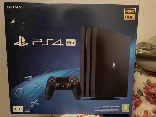 PlayStation 4 Pro 1TB CUH-7216B + 2x Pad +2x Gra !!