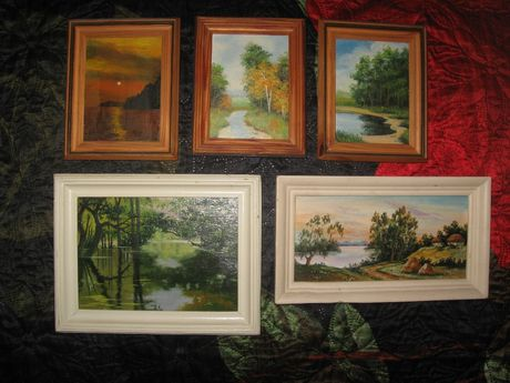 Набор картин (все из художественных салонов)