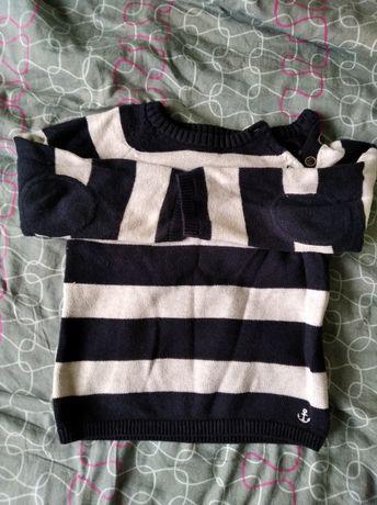 Sweterek chłopięcy rozmiar 86