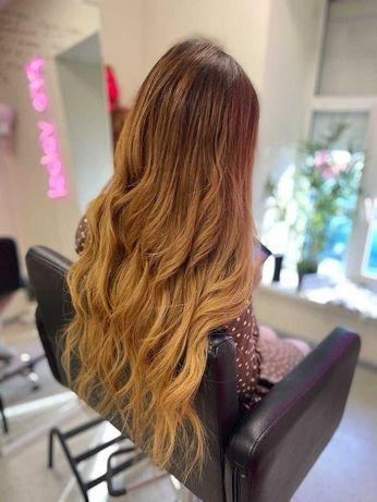 Наращивание волос 500 грн