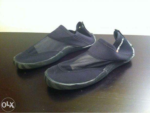 Botim/Sapato rip curl reef walker 3mm novo