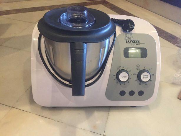 Chef Express com garantia e acessórios