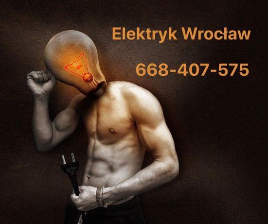 Elektryk /Drobne usługi elektryczne /Wrocław-okolice /Tanio i solidnie