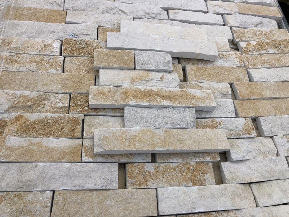 Tiras amarelas pedra rustica Benedita - imagem 1