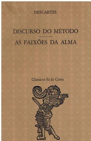 9611 O Discurso do Método / As Paixões da Alma de René Descartes