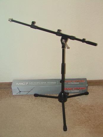 Стойка микрофонная, для подзвучки барабанов, Music Store MIC 7E Новая.