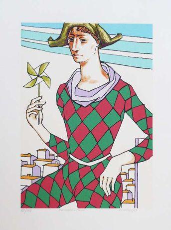 Obra de arte de Rogério de Freitas - Homenagem a Picasso