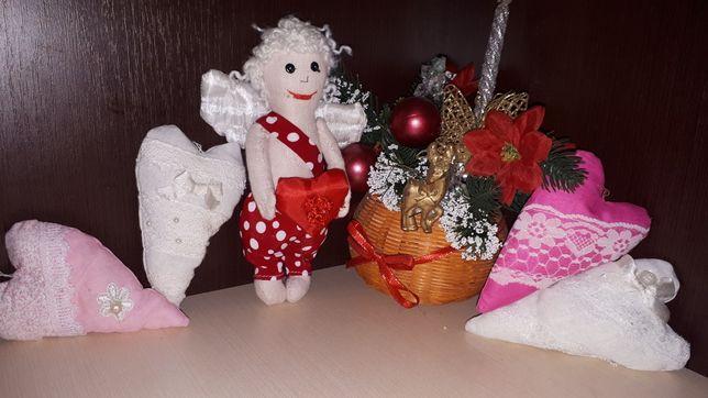 Валентинка Святой Валентин ангелочек