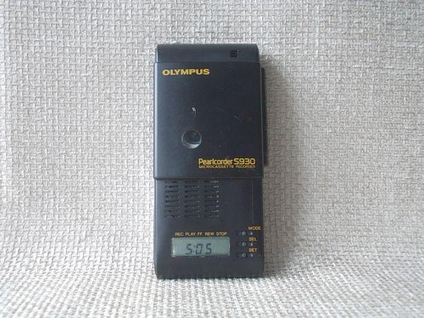 Диктофон OLYMPUS Pearlcorder S930 Олимпус Япония с родной кассетой