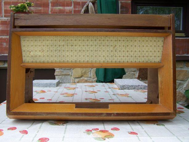 radio stare lampowe obudowa skrzynka Sonata 22002 Fonica