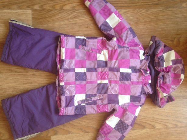 Продам костюм для девочки зимний термо 86-92
