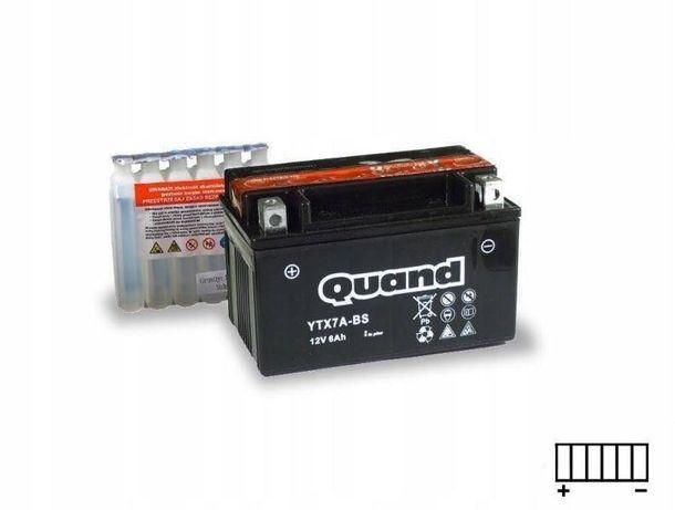 Akumulator motocyklowy 12V/6Ah Ytx7a-bs Quand