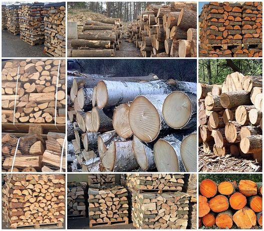 Drewno kominkowe i opałowe Transport za darmo. Układane sezonowane