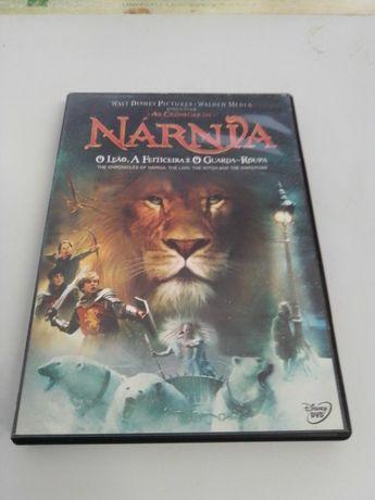 DVD As Crónicas de Nárnia O Leão, A Feiticeira e o Guarda-Roupa FILME