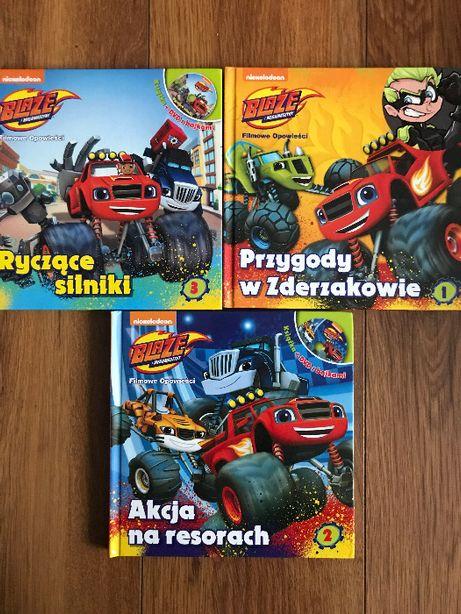 Książki książeczki Blaze 3szt + 3 płyty