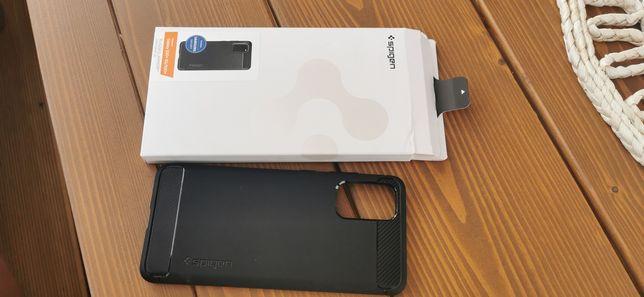 Samsung S20+, etui, case Spigen Rugged Armor