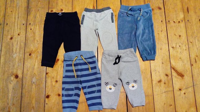 Zestaw spodnie HM Cool Club 74 stan idealny