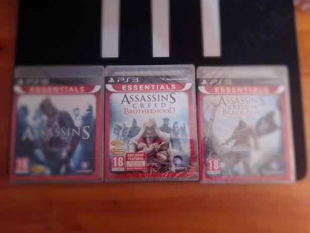 Trilogia Assassin's Creed - novos e selados