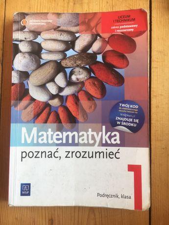 """Matematyka """"Poznać, zrozumieć"""" 1, Podręcznik"""