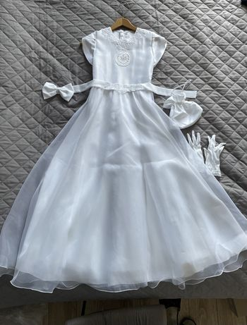 Alba, sukienka do komunii dla dziewczynki ok. rozm. 134 - 140
